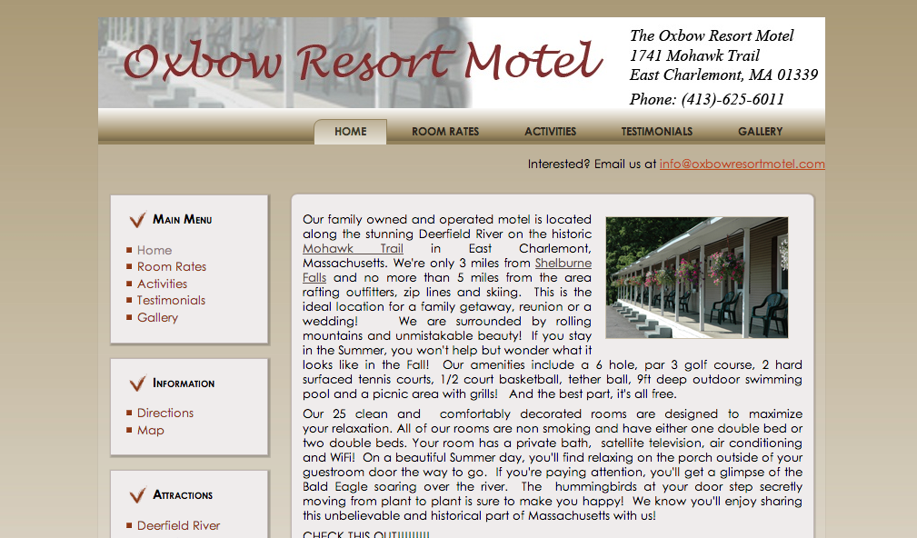 Oxbow Resort Motel