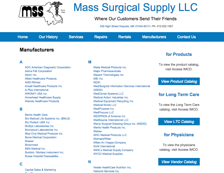 Mass Surgical Supply LLC