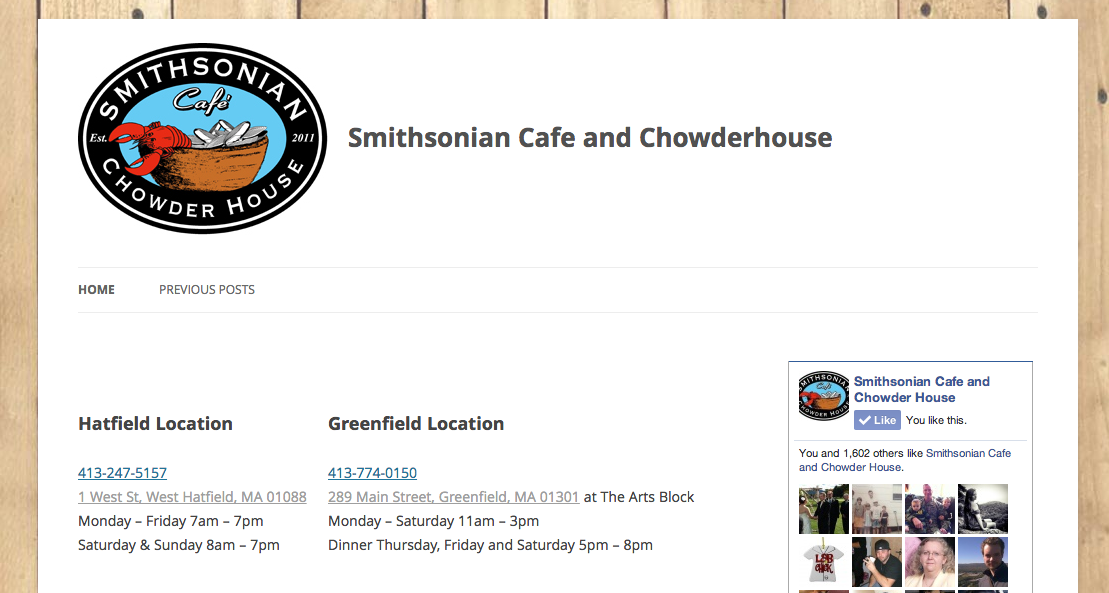 Smithsonian Cafe and Chowderhouse