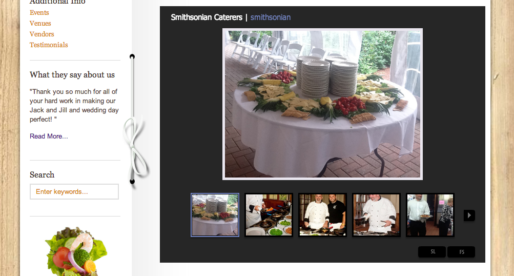 Smithsonian Caterers